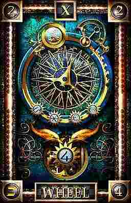 THE WHEEL OF THE FORTUNE TAROT