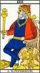 THE EMPEROR MAJOR ARCANA TAROT CARD