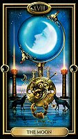 THE MOON TAROT CARD CIRO MARCHETTI